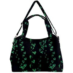 Botanical Dark Print Double Compartment Shoulder Bag by dflcprintsclothing