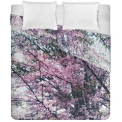 Ohio Redbud Duvet Cover Double Side (california King Size) by Riverwoman