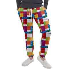 Lego Background Rainbow Men s Jogger Sweatpants