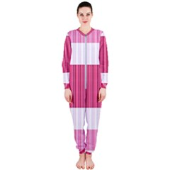 Fabric Geometric Texture Onepiece Jumpsuit (ladies)