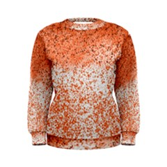 Scrapbook Orange Shades Women s Sweatshirt by HermanTelo