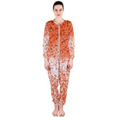 Scrapbook Orange Shades Onepiece Jumpsuit (ladies)