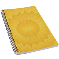 Wave Lines Yellow 5 5  X 8 5  Notebook by HermanTelo
