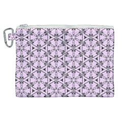 Texture Tissue Seamless Flower Canvas Cosmetic Bag (xl) by HermanTelo