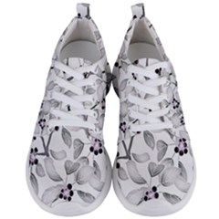 Floral Pattern Background Men s Lightweight Sports Shoes