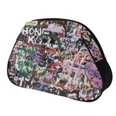 Graffiti Wall Background Full Print Accessory Pouch (small)