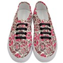 Floral Ethnic Pattern Women s Classic Low Top Sneakers View1