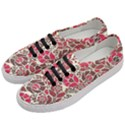 Floral Ethnic Pattern Women s Classic Low Top Sneakers View2