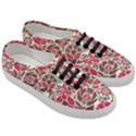Floral Ethnic Pattern Women s Classic Low Top Sneakers View3