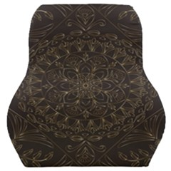 Floral Flowers Flourish Decorative Car Seat Back Cushion