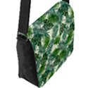 Leaves Tropical Wallpaper Foliage Flap Closure Messenger Bag (L) View2