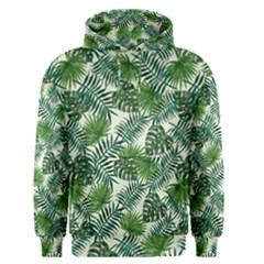 Leaves Tropical Wallpaper Foliage Men s Pullover Hoodie