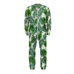 Leaves Tropical Wallpaper Foliage OnePiece Jumpsuit (Kids)