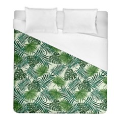 Leaves Tropical Wallpaper Foliage Duvet Cover (Full/ Double Size)
