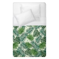 Leaves Tropical Wallpaper Foliage Duvet Cover (Single Size)
