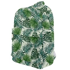 Leaves Tropical Wallpaper Foliage Classic Backpack