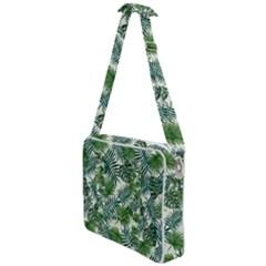 Leaves Tropical Wallpaper Foliage Cross Body Office Bag