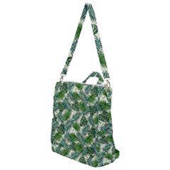 Leaves Tropical Wallpaper Foliage Crossbody Backpack