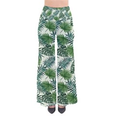 Leaves Tropical Wallpaper Foliage So Vintage Palazzo Pants