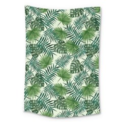 Leaves Tropical Wallpaper Foliage Large Tapestry