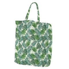 Leaves Tropical Wallpaper Foliage Giant Grocery Tote