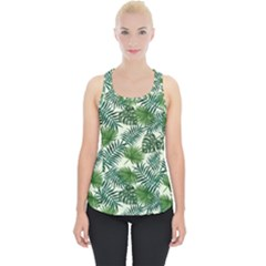 Leaves Tropical Wallpaper Foliage Piece Up Tank Top