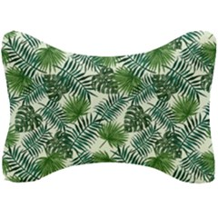 Leaves Tropical Wallpaper Foliage Seat Head Rest Cushion