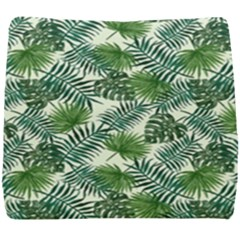 Leaves Tropical Wallpaper Foliage Seat Cushion