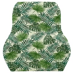 Leaves Tropical Wallpaper Foliage Car Seat Back Cushion