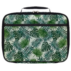 Leaves Tropical Wallpaper Foliage Full Print Lunch Bag