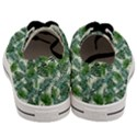 Leaves Tropical Wallpaper Foliage Men s Low Top Canvas Sneakers View4