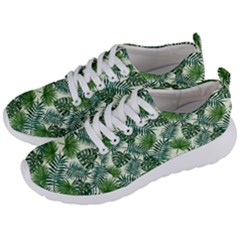 Leaves Tropical Wallpaper Foliage Men s Lightweight Sports Shoes