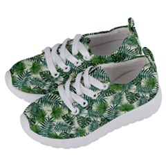 Leaves Tropical Wallpaper Foliage Kids  Lightweight Sports Shoes