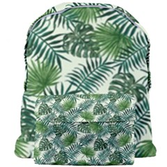 Leaves Tropical Wallpaper Foliage Giant Full Print Backpack