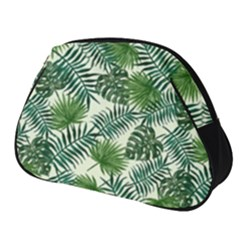Leaves Tropical Wallpaper Foliage Full Print Accessory Pouch (Small)