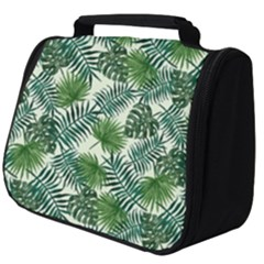 Leaves Tropical Wallpaper Foliage Full Print Travel Pouch (big) by Pakrebo