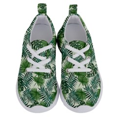 Leaves Tropical Wallpaper Foliage Running Shoes