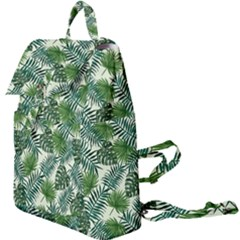 Leaves Tropical Wallpaper Foliage Buckle Everyday Backpack by Pakrebo