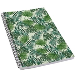 Leaves Tropical Wallpaper Foliage 5.5  x 8.5  Notebook