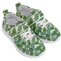 Leaves Tropical Wallpaper Foliage Kids  Velcro Strap Shoes View3
