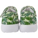 Leaves Tropical Wallpaper Foliage Kids  Velcro Strap Shoes View4