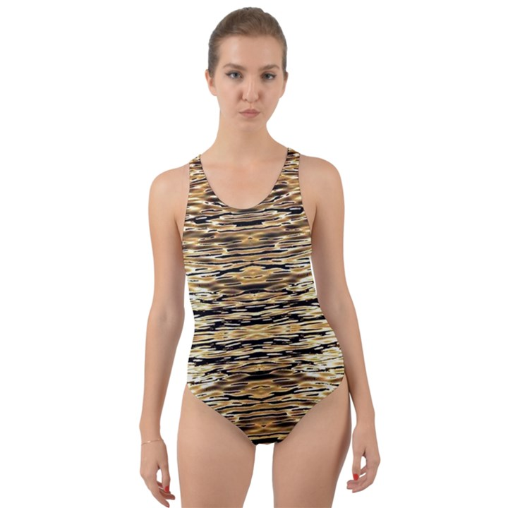 ML-C-4-9 Cut-Out Back One Piece Swimsuit