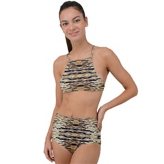 Ml C 4 9 High Waist Tankini Set