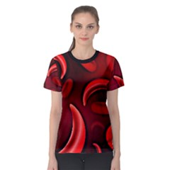 Cells All Over  Women s Sport Mesh Tee by shawnstestimony