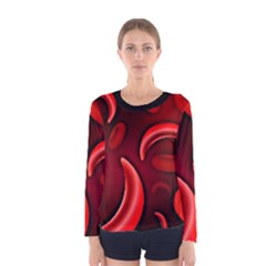 Cells All Over  Women s Long Sleeve Tee by shawnstestimony
