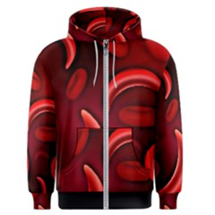 Cells All Over  Men s Zipper Hoodie by shawnstestimony