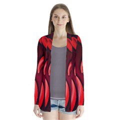 Cells All Over  Drape Collar Cardigan by shawnstestimony