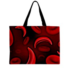Cells All Over  Zipper Medium Tote Bag