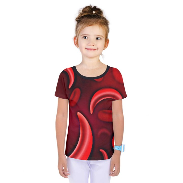 Cells All Over  Kids  One Piece Tee