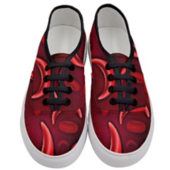 Cells All Over  Women s Classic Low Top Sneakers